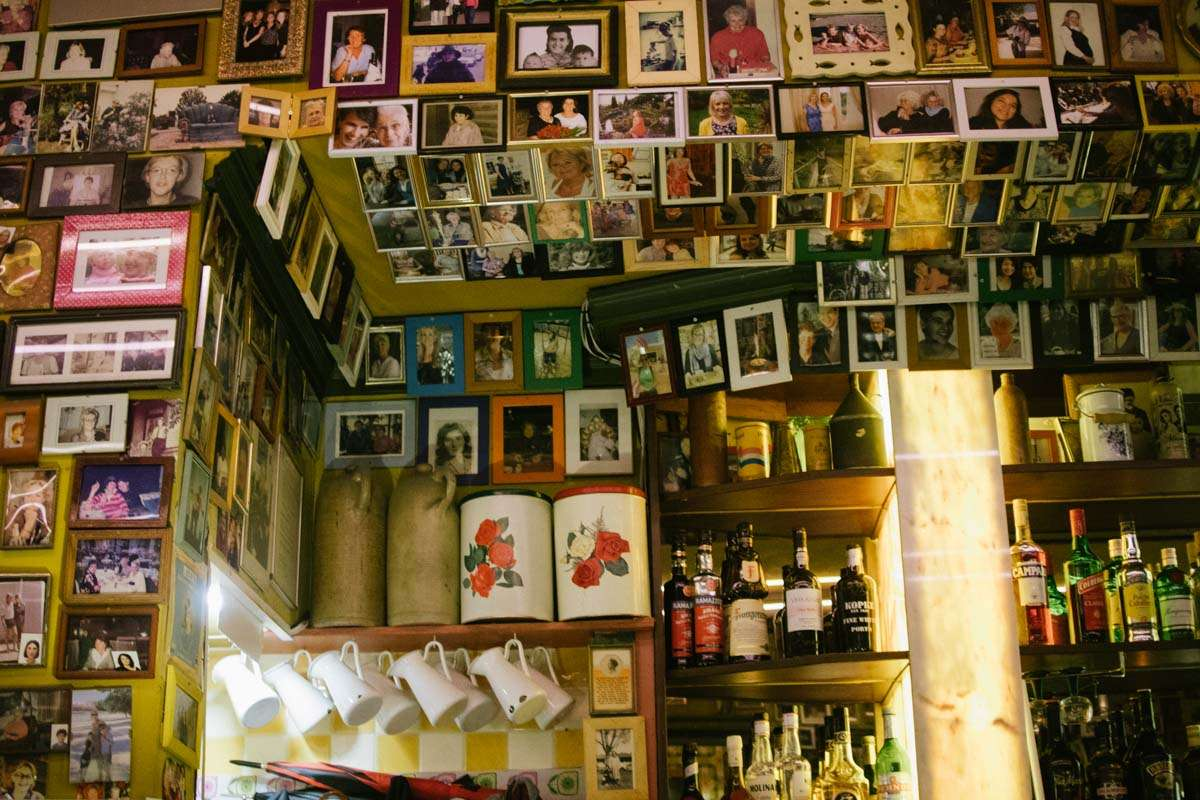 photograph of the Inside of Inside Moeders Resturant Amsterdam