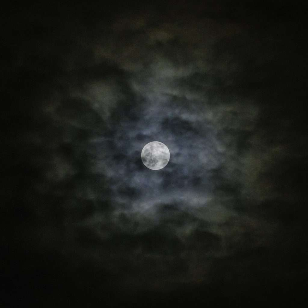 a photo of a supermoon