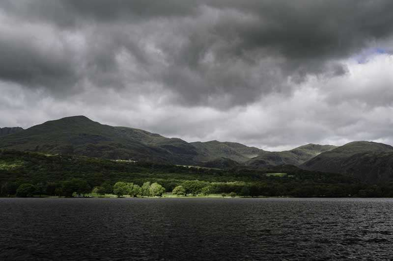 Photograph of Coniston Water Lake District