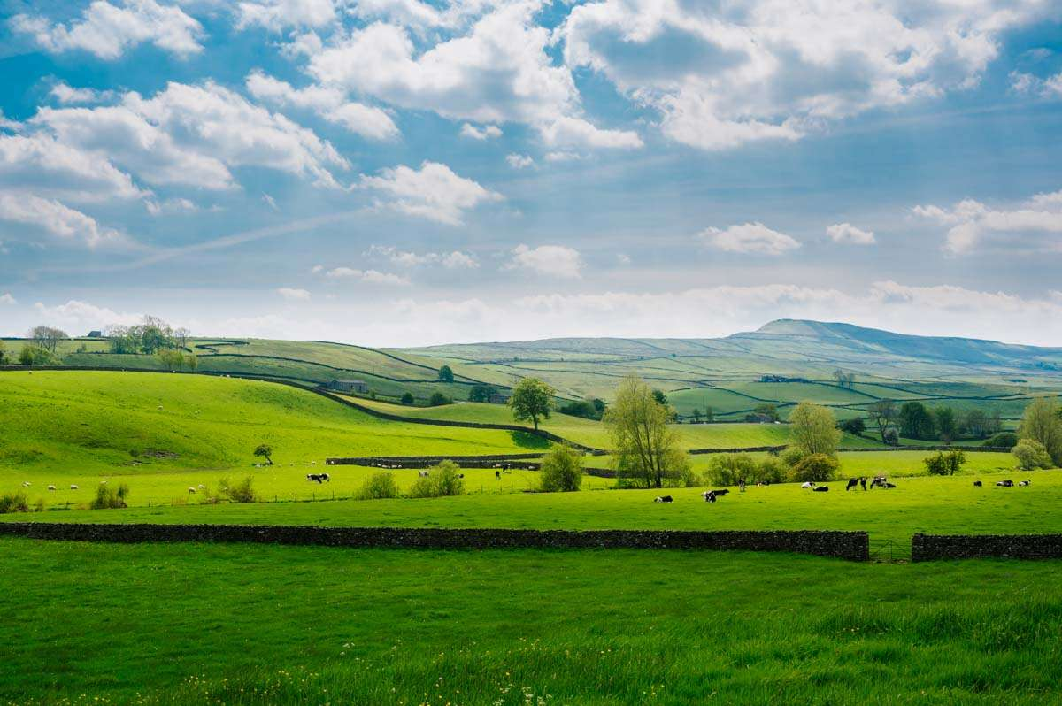 A beautiful day in Hawes, Yorkshire